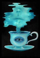 recordar t (maru_stahl) Tags: tea te ghost fantasma eye cup coffee