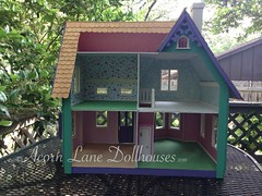 IMG_0403 (AcornLaneDollhouses) Tags: westville greenleaf dollhouse handcrafted finished interior