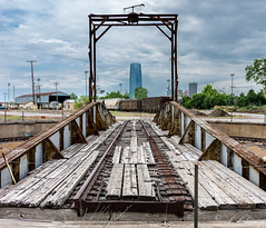 Old Frisco Turntable in South OKC BNSF yard (_patclancy56) Tags: rrturntable railroad abandon okc