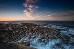 Cape Banks Sunrise 2 (RoosterMan64) Tags: australia capebanks clouds landscape leefilters longexposure nsw rockshelf seascape sunrise sydney laperouse newsouthwales au