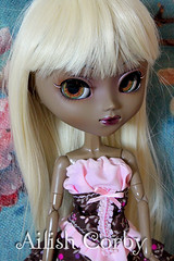 Platino (AilishCorby) Tags: pullip another queen doll wig mueca peluca