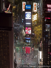 Times Square Aerial New York City (Performance Impressions LLC) Tags: timessquare timessquareaerial nyc newyork newyorkcity manhattan aerial night city lights citylights taxis people midtown midtownmanhattan billboards advertisements 10019 unitedstates usa 13892931902