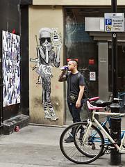 Endless, Soho (slmimages) Tags: streetart soho streetphotography endless