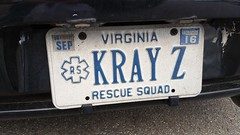 Crazy (Gamma Man) Tags: licenseplate vanitytag wankertag numberplate numbertagcrazykrazy