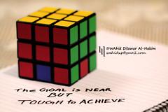 Toughest goal (WahidHakim) Tags: stilllife still macro puzzle magiccube rubikscube dhaka bangladesh philosophy life toughgoal square rectangle color colorful