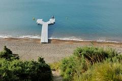 Y (MrHRdg) Tags: dawn daybreak morning beach pontoon jetty y letter fisreman angler angling dorset