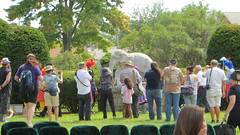 showmens rest. august 2016 (timp37) Tags: showmens rest august 2016 elephant statue woodlawn cemetary forest park clowns