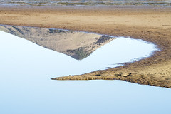 All in the curve (Ian@NZFlickr) Tags: harbour cone reflection hoopers inlet otago peninsula dunedin nz