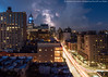 Lightning Live Composite (P8130516) (Michael.Lee.Pics.NYC) Tags: newyork night thirdavenue lightning clouds traffictrail lighttrail longexposure olympus em5 markii mkii 1240mmpro28 livecomposite