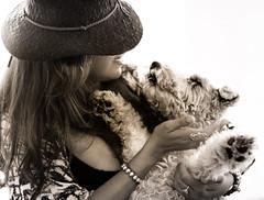 Save me (Tazmanic) Tags: puppy dog girl hug hatglamor