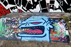 graffiti amsterdam (wojofoto) Tags: graffiti ndsm kynz amsterdam nederland netherland holland wojofoto wolfgangjosten
