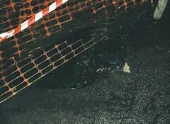 Dangerous hole in the footpath (Matthew Paul Argall) Tags: kodakstylelite lomographyfilm 110 110film fixedfocus footpath hole broken damaged mountdandenong 2016
