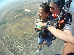 "Skydiving in Cape Town... ca. 3000 meters (9000 ft) over sea level and 200kms/h speed. Nov 2014. South Africa #itravelanddance • <a style=""font-size:0.8em;"" href=""http://www.flickr.com/photos/147943715@N05/29531262343/"" target=""_blank"">View on Flickr</a>"