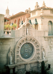 Porst SP Mission Inn 4 () Tags: vintage retro classic film camera losangeles california riverside history west coast architcture porst photo quelle 35mm m42 slr germany chinon cosina japan tiltshift color
