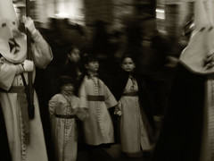 sueo de Semana Santa -  Easter dream (MO3PA) Tags: blurred street easter spain religion candid unknown