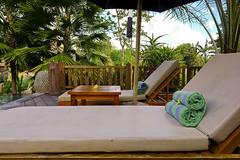 Poolside deck chairs (A. Wee) Tags: sankara resort hotel  ubud bali  indonesia  deck chair