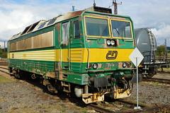 163-099 at Ceska Trebova depot (Karel1999 Over a Million views ,many thanks) Tags: vlak zug locomotives trains diesels ceska trebova
