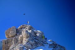 Zugspitze Gipfel (decineper) Tags: mountain climbing hiking cliff hllental zugspitze hollental klettersteig viaferrata alps germany summit
