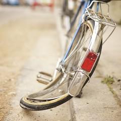 The Dali bike (Caropaulus) Tags: 100bicycleproject 50mm 100bicycles aplha7 bike blur bokeh broken flou minolta rokkor roue rue street velo wheel