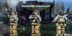 "Simon ""Ghost"" Riley (McLovin1309) Tags: ghost simon riley custom lego minifigure cod call duty modern warfare 2"