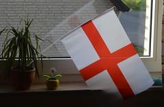 England flag sinking (dennoir) Tags: england flag sinking