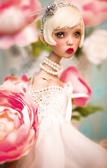 READY WIG! French Vanilla (Amadiz) Tags: wig wigs amadiz amadizstudio abjd bjd doll dolls fashion hairstyle popovy popovydolls littleowl