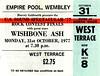 Wishbone Ash 31.10.77 (1978-1987) Tags: concerttickets wishbone ash wembleyarena wembley