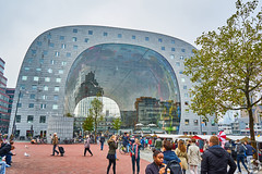 Crazy Architecture (PaaulDvD) Tags: rotterdam colors river maas netherlands boat water city urban