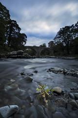 Autumn at Devils Bridge (Ollie Morris) Tags: olliemorris leadbetter74 autumn bridge devilsbridge water river sky clouds longexposure bigstopper leefilter manfrotto