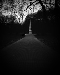 Dark (antonverein) Tags: autumn moscow dark gothic