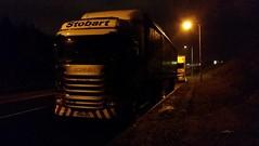 H2100 - PE64 UPA (Cammies Transport Photography) Tags: truck drive paige lorry eddie sandpiper upa bethanie scania dunfermline esl stobart eddiestobart r450 h2100 stobartgroup pe64 pe64upa