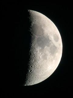 Moon, November 28 w/ iPhone 6 through 8