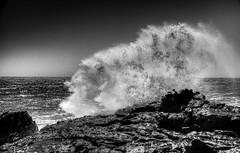 Are you going with me? (.KiLTRo.) Tags: ocean chile sea beach water coast rocks waves rinconada cobquecura kiltrochileno