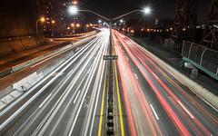 FDR Drive at Delancey Street (dansshots) Tags: nyc newyorkcity cityscape traffic manhattan bigapple fdrdrive cityscene iloveny newyorkatnight thebigapple nikond3 dansshots
