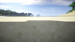 Sandbank (Minecraft Wallpaper) Tags: wallpaper strand landscape mond wasser nebel ambient hd aussicht landschaft sonne schatten baum umgebung dner fullhd gronkh taddl minecraft pewdiepie sarazar herrbergmann pietsmiet thediamondminecart ungespielt