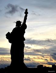 Paris (Miyalink) Tags: paris france statue clouds liberte