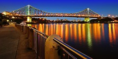 Story Bridge , Brisbane CBD (chandlerbong) Tags: longexposure nightphotography australia queensland travelphotography lowlightphotography brisbanecbd tamron1024mm sonya580