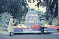 1960 Festival Procession Float representing Calton Hill (Dunedin City Council Archives) Tags: festival historic dunedin procession