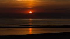 IMG_4751 (Leif Hinrichsen) Tags: sunset summer beach strand denmark island sonnenuntergang sommer insel northsea dänemark danmark nordsee abendhimmel sandstrand rømø röm nordseeinsel