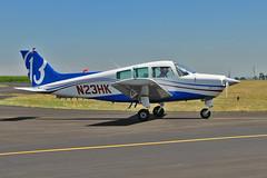 Beech C23 Sundowner N23HK (skyhawkpc) Tags: nikon airshow co beech allrightsreserved sundowner c23 2014 greeley m1911 gxy rockymountainairshow greeleyweldcountyairport kgxy garyverver n23hk