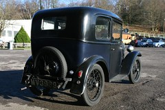 1932 Austin Seven Saloon (davocano) Tags: mv3939 brooklands austin7