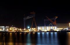 HDW Werft (www.plainpixel.com) Tags: night nacht wharf fjord dri kiel holstein schleswig werft frde hdw kieler traumflieger vanon 60d