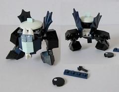 Globert SSC (thomastamblyn) Tags: lego mech mechaton mobileframezero singlesetchallenge
