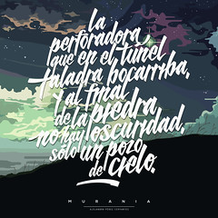 Murania (Abel Snchez.) Tags: typography design graphicdesign heaven poetry letters quotes type lettering goodtype tierraadentro murania handmadelettering typeverything alejandroprezcervantes