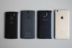 OnePlus One vs LG G3 vs Apple iPhone 6 Plus vs Samsung Galaxy Note 4
