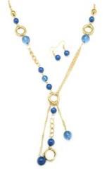 Glimpse of Malibu Blue Necklace P2710A-5