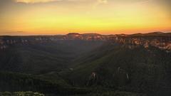 Day 113: Blue Mountains Canyon (p.sebastien) Tags: travel blue sunset mountains pacific sony south australia roadtrip canyon eucalyptus van camper campervan australie oceania aroundtheworld oceanie aroundtheworldtrip travelaroundtheworld aroundtheworldtravel snsw nex6