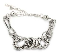 5th Avenue Silver Bracelet P9211A-2