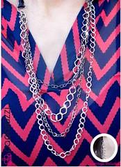 5th Avenue Grey Necklace K4 P2240A-4