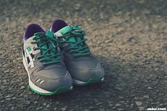 new rope laces | asics gel lyte iii (thatgirlwiththekicks) Tags: shoes sneakers asics kicks emerald grape gellyteiii gellyte3 ropelaces bossofkicks boklaces